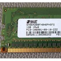 Memoria Smart 1gb 1rx8 Pc3-10600u Para Desktop