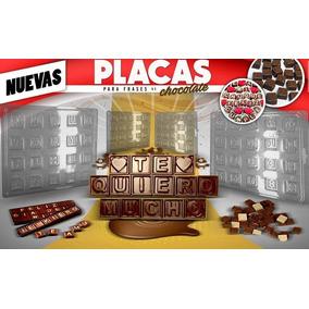Moldes Letras Chocomensajes Frases Chocolate