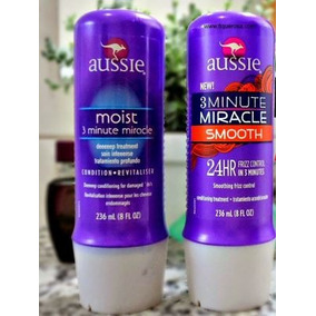 Aussie 3 Minute Miracle Shine/smooth/color [lacrado] 236ml