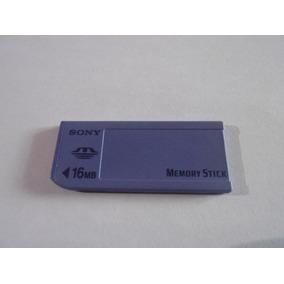 Cartão De Memória Sony Memory Stick 16mb A91-18