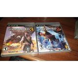 Uncharted 2 Y 3 Ps3 Oferta! Idioma Castellano