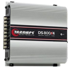 Módulo Taramps Veicular Som Ds800x4 800w Rms 4 Canais 2 Ohms