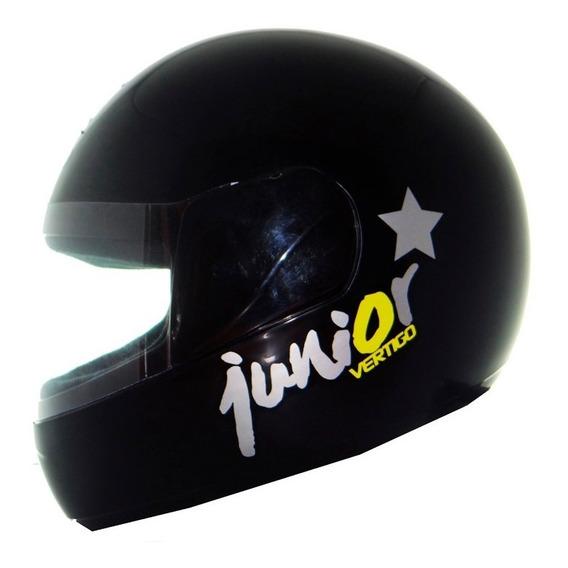 Casco Vertigo Junior Kids Ni?o Ni?a Negro Rosa - Sti Motos