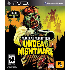 Ps3 Red Dead Redemption Undead Nightmare Merlo San Luis