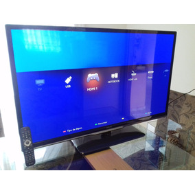 Tv Philips 42 Led Full Hd 3d, 4 Oculos Semi Nova!! Perfeita!