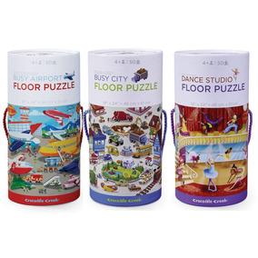 Rompecabezas Puzzle 50 Pz Varon Nena Crocodile Creek