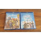 Películas Bluray Zotopia Frozen Nuevas