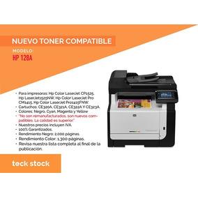 Cartucho Toner Nuevo Compatible 128a Ce320a Todos Los Col