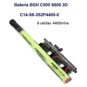 Bateria Positivo Bgh C500 S600 3d C14-s6-3s2p4400-0