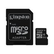 Memoria 32g Kingston Microsdhc Canvas Select