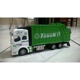 Miniatura Caminhão De Lixo Diecast