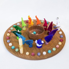 Juego Didáctico Calendario Anual Waldorf Montessori