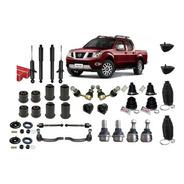 Kit Suspensão Nissan Frontier Sel 2.5 Após 2007 - 34 Peças