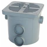 Caixa De Água Pluvial Cinza - 10 L
