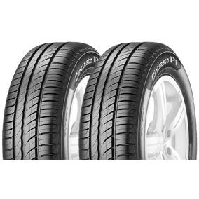 02 Pneus 185/70r14 Pirelli Cint P1 P/ Puma Gts Mp Lafer Sp2