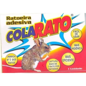 20 Ratoeira Adesiva Cola Pega Rato Barata Inseto Promoção