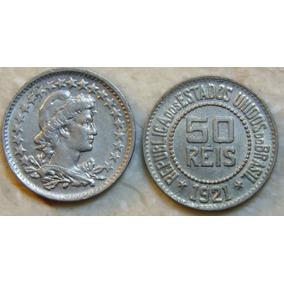 50 Reis 1921, Serie Niqueis, Soberba A