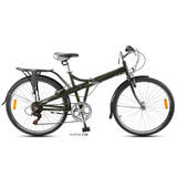 Bicicleta Plegable Aurora Rodado 26 Folding F26 - Sti Motos