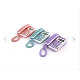 Aparelho De Telefone Fixo Colorido C\ Identificador De Chama