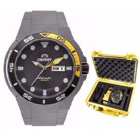 Relógio Orient Masculino Seatech Titanium 469ti003 G1gx - Nf