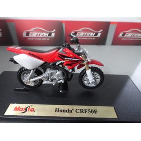 Miniatura Minimoto Honda Crf50f 1:18 Maisto