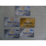Tarjetas Telecard!!! Lote De 5 X $ 70. Coleccionistas
