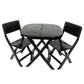 Jogo 1 Mesa 2 Cadeiras Dobrável Frete Mercado Livre Full