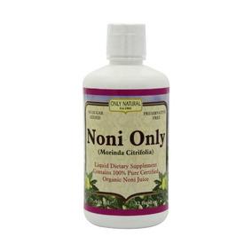 Sólo Orgánico Natural Noni Única, De 32 Onzas