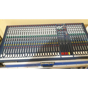 Mezcladora Soundcraft Spirit.lx7 Li De 32 Ch.