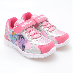 Zapatilla Con Abrojo Y Cordones My Little Pony (lpx206)