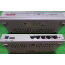 Router Broadband 4 Puertos, Con Print Server