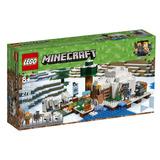 Lego Minecraft 21142 - El Iglú Polar (278 Piezas)