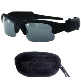 Óculos Sol Espião Câmera Espiã Modelo Esportivo + Sd 8g