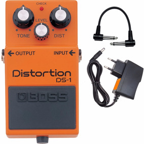 Pedal Boss Ds 1 Distortion Ds1 + Fonte Loja Kadu Som