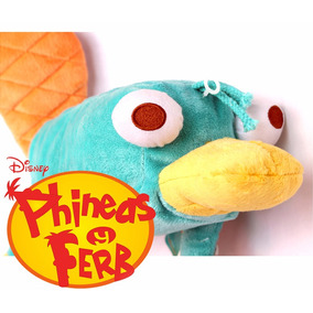Peluche Perry Ortinorrinco Phineas Y Ferb