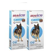 Bravecto Combo ( 2 ) Unid 20 A 40 Kg