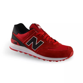 new balance hombres rojas