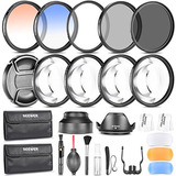 Neewer® 58mm Kit De Accesorios De Fotografía Juego De Filtr