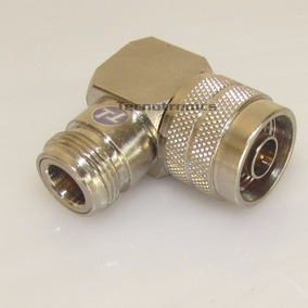 Conector Adaptador Bullet. N Macho X N Femea Angular 90º