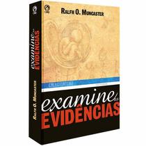 Livro Examine As Escrituras Criacionismo Teologia