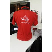 Camiseta Gola Polo Masculina Do Cavalo Crioulo