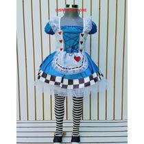 Disfraz Alicia En El Pais De Las Maravillas Sombrerero Niñas