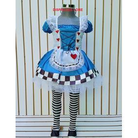 Disfraz Adulto Alicia En El Pais De Las Maravillas Vestido