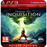 Dragon Age Inquisition Ps3 (17gb) - No Codigo