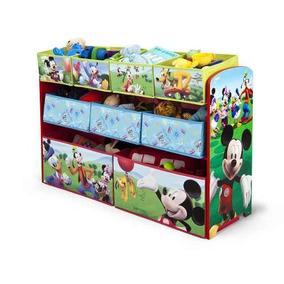 Juguetero Organizador Infantil De Mickey Mouse *envio Gratis
