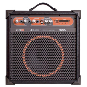 Ll Audio Caixa Amplificada Multiuso Trx8 Bluetooth Usb Fm