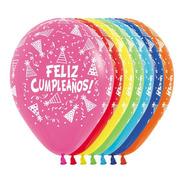 Globos Premium Feliz Cumpleaños Gorritos Sempertex