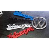 Emblema Volkswagen Vocho Escarabajo Vw Colores
