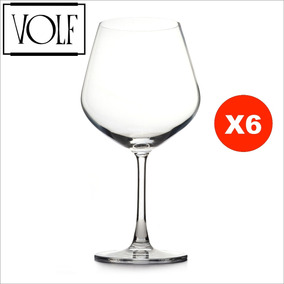 Copón De Cristal Volf ® Profesional 710ml - Set X 6