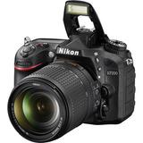 Nikon D7200 Kit Lente 18-140mm Entrega Inmediata